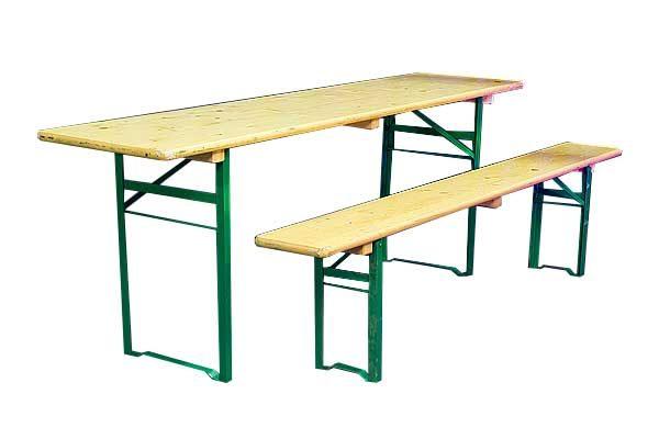 a1446f790d9 Festivalimööbli laud, hele 50x220cm - Klinkberg